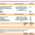 Тарифы на электроэнергию в Республике Башкортостан с 1 января 2019 года