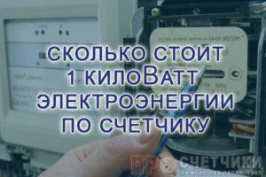 skolko-stoit-kilovatt-elektroenergii-po-schetchiku