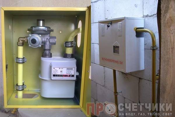 Особенности установки ящика на газовый счётчик